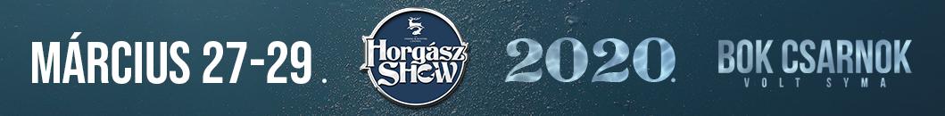 Horgász Show – 2020. MÁRCIUS 27-29