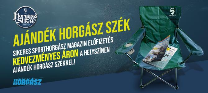 Ajándék horgász szék